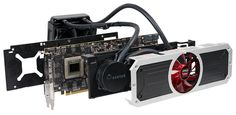 AMD R9 390X Water Cooled Edition from the alleged Slide: 4096 units, 8GB HBM memory