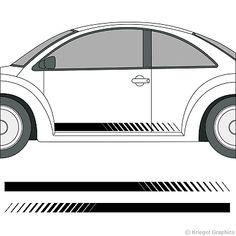 Van royce caravane numéro de modèle stickers decals graphics-paire style 1