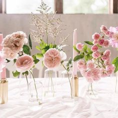 Top 5 Never Been Seen Wedding Table Centerpieces - Put the Ring on It Dusty Rose Wedding, Floral Wedding, Wedding Flowers, Wedding Table Centerpieces, Wedding Centerpieces, Centrepieces, Bridal Shower Decorations, Wedding Decorations, Making A Bouquet