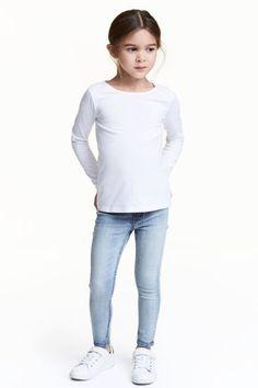 Superpružné džínsové legínsy | H&M