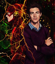 The Flash/ Barry by MoishPain on @DeviantArt