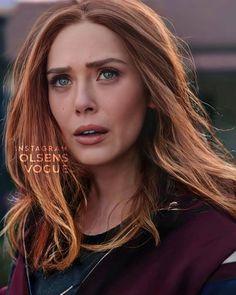 Marvel E Dc, Marvel Women, Elizebeth Olsen, Beverly Marsh, Elizabeth Olsen Scarlet Witch, Scarlet Witch Marvel, Wanda And Vision, Hollywood Celebrities, Marvel Characters