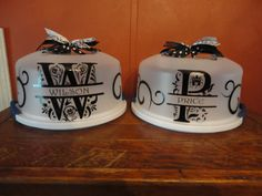 Regal Cake Carriers by DeepSouthWelding on Etsy, $15.00