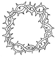 Crown Of Thorns Clipart - Cliparts.co
