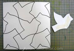 Tessellations - with sliding background one!