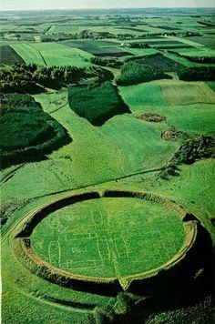 Viking Circular Bastion, Hobro, Denmark: