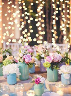 Pastel Wedding Decor for a Spring Wedding Pastel Wedding Theme, Wedding Themes, Wedding Events, Wedding Flowers, Pastel Weddings, Vintage Weddings, Rustic Spring Weddings, Rustic Wedding, Winter Weddings