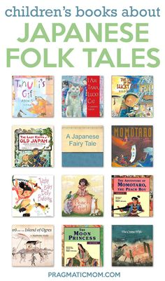 21 Wonderful Japanese Folk Tales Books for Kids Little Free Libraries, Free Library, Library Ideas, Legends For Kids, Japanese Legends, Kids Around The World, Japanese Books, Chapter Books, Teaching Kids