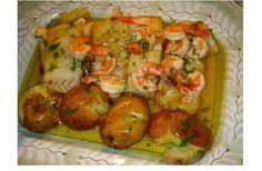Bacalhau com camarão no forno, a receita em que te vais viciar! - http://www.receitasparatodososgostos.net/2016/05/12/bacalhau-com-camarao-no-forno-a-receita-em-que-te-vais-viciar/