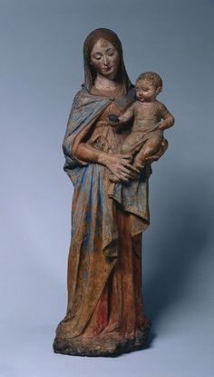Madonna and Child, c. 1475. and workshop Antonio Rossellino (Italian, 1427-1479 (?)).  polychromed terracotta, Overall - h:121.90 cm (h:47 15/16 inches).
