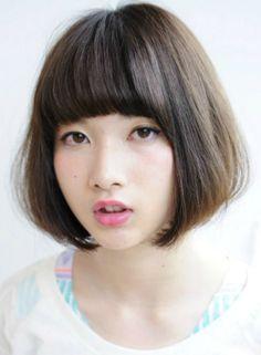 大人可愛いナチュラルボブ 【tricca】 http://beautynavi.woman.excite.co.jp/salon/7166?pint ≪ #bobhair #bobstyle #bobhairstyle #hairstyle・ボブ・ヘアスタイル・髪型・髪形 ≫