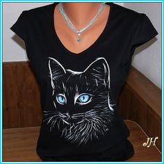 Tričko kočka