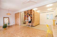 Spazi modulari in una casa mediterraneaLiving Corriere