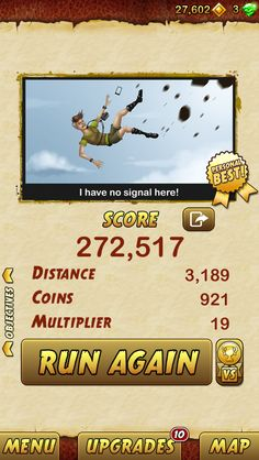 I got 272517 points while escaping from a Giant Demon Monkey. Beat that! http://bitly.com/TempleRun2iOS