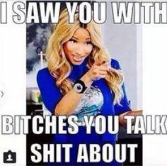 Lol, hey Nicki