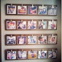 Photo Wall or Gallery Wall Idea