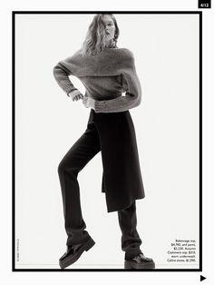 Catherine McNeil Vogue Australia October 2014 BALENCIAGA