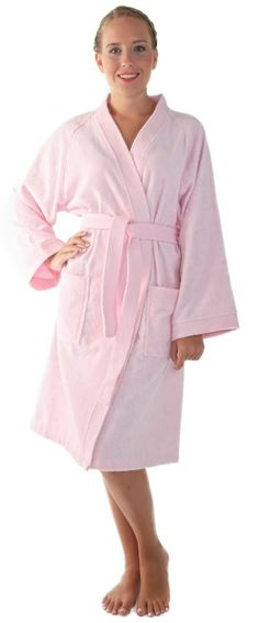 Arus Women's Archee Style Turkish Cotton Short Kimono Bathrobe http://www.amazon.com/exec/obidos/ASIN/B0025UNGIG/hpb2-20/ASIN/B0025UNGIG I think your wasting your money. - It's a nice light weight fabric, very comfortable, easy to clean. - It's comfy, fits well, and is a good robe.