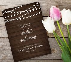 Hey, I found this really awesome Etsy listing at https://www.etsy.com/listing/400699501/wedding-program-printable-rustic-string