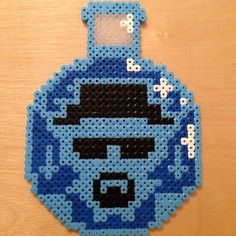 Breaking Bad Heisenburg Perler Sprite Rave Heisenberg Art Walter White AMC