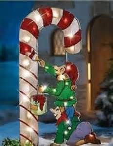 outdoor christmas elves bing images