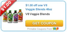 Tri Cities On A Dime: SAVE $2.00 WITH 2 COUPONS ON V8 VEGGIE BLENDS AND ...
