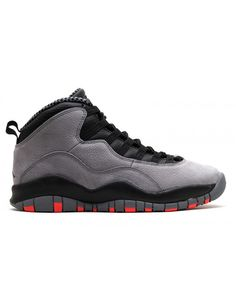 Air Jordan Retro 10 Cool Grey Cool Grey Infrared Black 310805 023 c76659d32