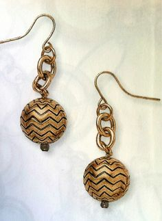 Chevron Earrings $29  #PremierDesigns #2013FallWinterCollection