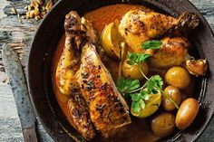 For a roast with a difference, try Valli& flavour-packed massaman roast chicken. Chef Recipes, Wine Recipes, Asian Recipes, Cooking Recipes, Cooking Ideas, Meal Recipes, Roast Chicken Recipes, Roasted Chicken, Grilled Chicken