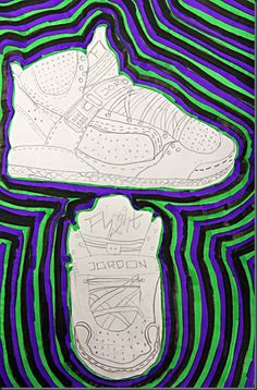 Another option for the Shoe Drawing at the begining of the year