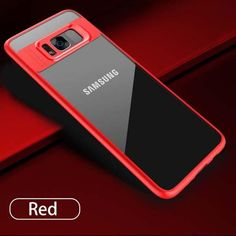 Clear Case For Samsung Galaxy S8 S8 Plus Slim Transparent Cover Shockproof Armor