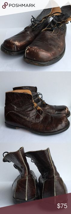 """Cydwoq Boot. Soft leather. Made in USA. burgundy. Cydwoq """"sidewalk"""" is a hand crafted shoe company in California. They create unique, timeless styles for men and women. Vegetable tanned leather. Eco friendly glues and materials cydwoq Shoes Lace Up Boots"""