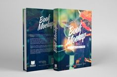 graphic Book Mockup