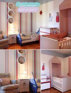 No mesmo quarto: menino + menina ou bebê + criança   Comprando Meu Apê