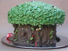 Fairy tale tree cake