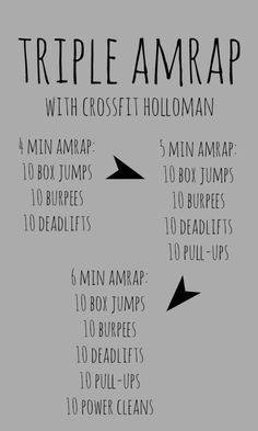 Triple AMRAP at crossfit holloman for 50 states in a year