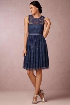 ANTHROPOLOGIE BHLDN Blue Hitherto Celia Dress Sz 16 MSRP $200