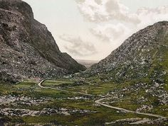 Gap of Dunloe.  A beautiful place off the trail in Ireland.  Take this road instead of the road around the Ring of Kerry for a real treat.