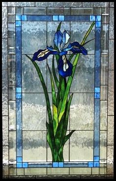 Prairie Stained Glass Representational Design