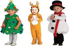 Great Christmas Costumes for school plays