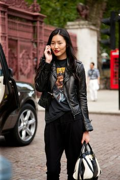 Street Style Chronicles: London Fashion Week Spring 2013 - theFashionSpot