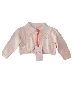 e517d205b37bb Details about Ted Baker Baby Girl Cardigan Pink Short Designer Newborn Gift  0-3 Months