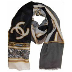 Chanel Cashmere Long Scarf
