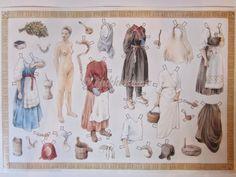 Juulia Mikkola 90-luvun alussa, Kalevala paperinuket Painting, Painting Art, Paintings, Painted Canvas, Drawings