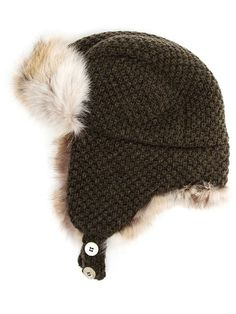 388,92 €Shop Inverni fur lined trapper hat in Browns from the world's best independent boutiques at farfetch.com. Over 1000 designers from 60 boutiques in one website.