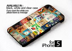 AJ 496 Vintage Disney Posters - iPhone 5 Case | FixCenter - Accessories on ArtFire