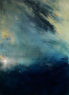 "Maurice Sapiro; Oil 2014 Painting ""Lighthouse In A Storm"""