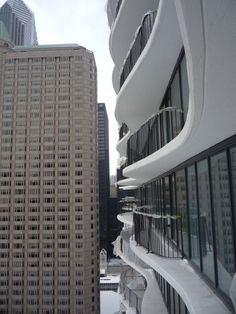 Image result for ARCHITECTURE WITH SLAB EDGE AND UNDULATING FLOORS Facade, Skyscraper, Concrete, Multi Story Building, Flooring, Architecture, Image, Balconies, Arquitetura