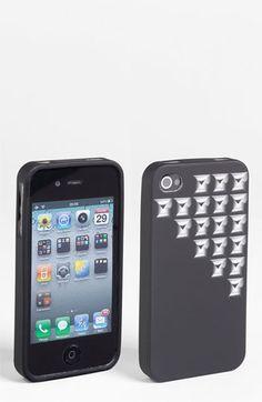 Design Lab 'Pyramid Stud' iPhone 4 & 4S Case   Nordstrom