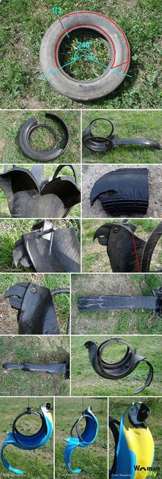 чч Backyard Projects, Outdoor Projects, Garden Projects, Projects To Try, Tire Furniture, Modern Furniture, Recycling Furniture, Furniture Design, Reuse Old Tires